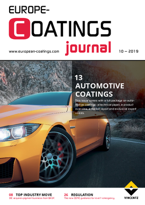 European Coatings Journal - Issue 10/2019