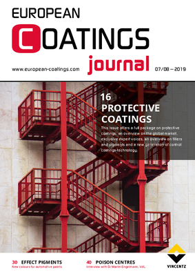 European Coatings Journal - Issue 7-8/2019