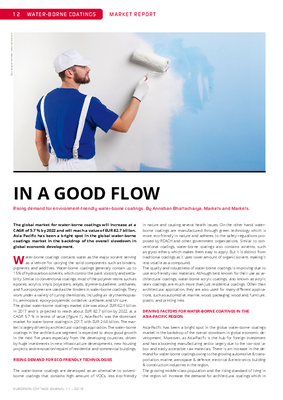 European Coatings 360° » IN A GOOD FLOW