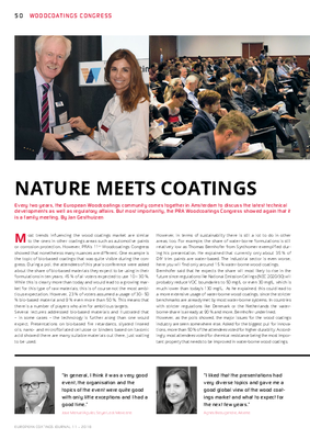 European Coatings 360° » NATURE MEETS COATINGS