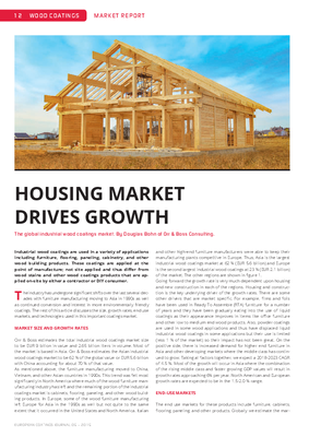 European Coatings 360° » HOUSING MARKET DRIVES GROWTH