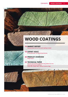 European Coatings 360° » WOOD COATINGS