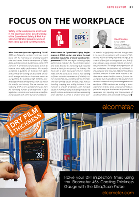 European Coatings 360° » FOCUS ON THE WORKPLACE