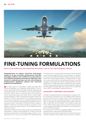 European Coatings 360° » FINE-TUNING FORMULATIONS