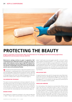 European Coatings 360° » PROTECTING THE BEAUTY