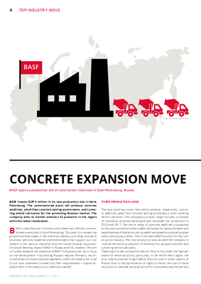 European Coatings 360° » CONCRETE EXPANSION MOVE